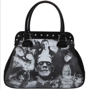 Rock Rebel Classic Monsters Purse